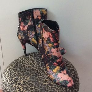 Impo high heeled ankle boots